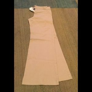 Gap wide leg khaki pant
